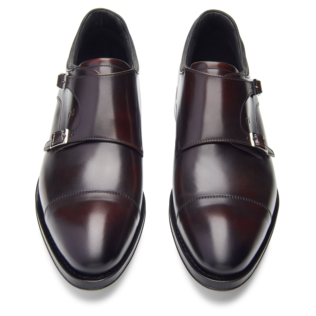 Business Casual GY Calf Double Monk Moccasin