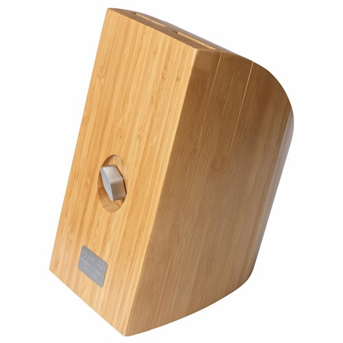 P13 for 8 Knives Bamboo Wood 21x15x26 cm Knife Block